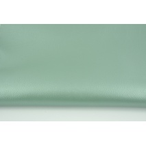 Imitation leather, sage 450g/m2