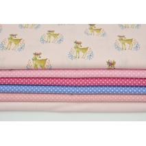 Fabric bundles No. 722 KO 40x140cm
