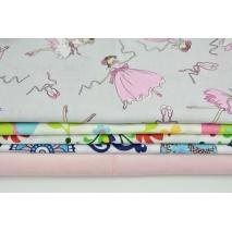 Fabric bundle No. 724 KO 30x160cm