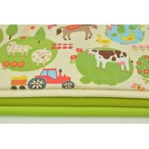 Fabric bundles No. 733 KO 30x140 cm