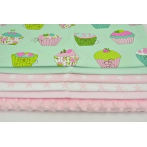 Fabric bundle No. 738 KO 30x160cm