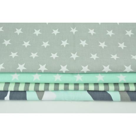Fabric bundles No. 739 KO 40x160cm