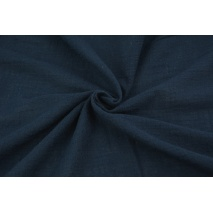Cotton fabric, navy blue AR