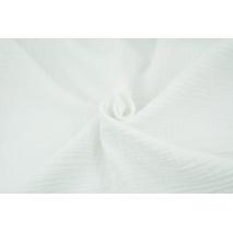Muślin bawełniany, biały 2