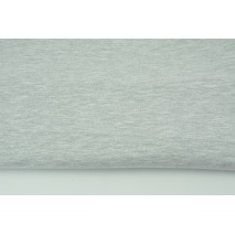 Looped knitwear plain light gray melange (thin)