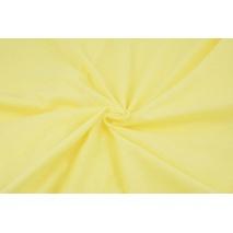Dzianina 100% bawełniana jasny żółty