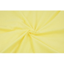 Knitwear 100% cotton plain light yellow