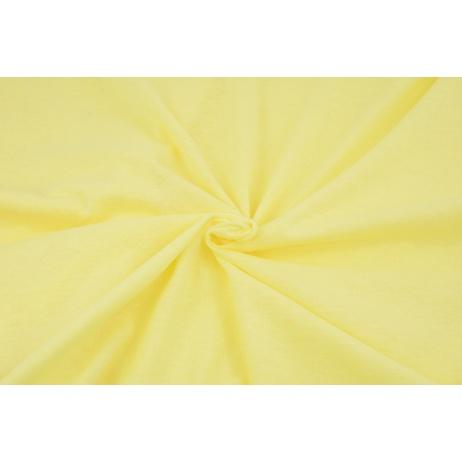 Knitwear 100% cotton plain light yellow