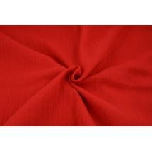 Muślin bawełniany, czerwony
