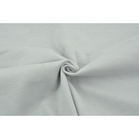 Knitwear, cuff fabric with elastane, plain light gray