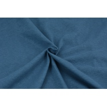 Dzianina 100% bawełniana przygaszony niebieski