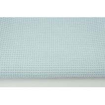 Cotton 100%, waffle fabric, plain baby blue II quality