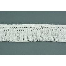 Bawełniane frędzle 55mm białe