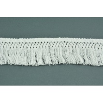 Cotton fringes 55mm white