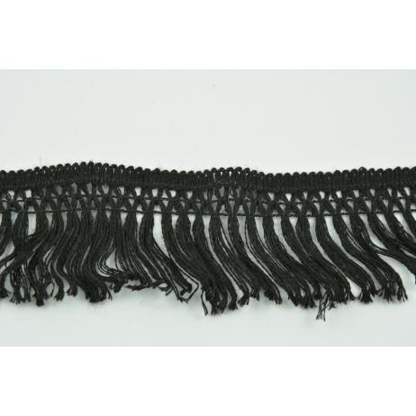 Cotton fringes 55mm black