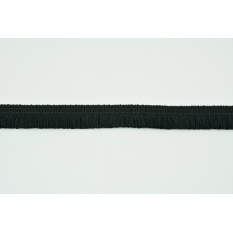 Cotton fringes 15mm black