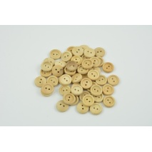 "Wooden button 20"" beech"