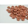 """Wooden button 20"""" red oak"""