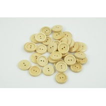 "Wooden button 32"" beech"