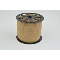 Cotton bias binding light caramel