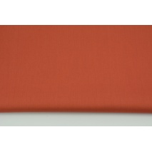 Bawełna 100% ruda jednobarwna, popelina