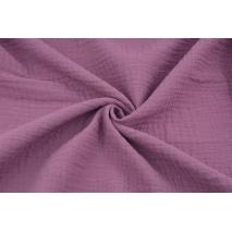 Muślin bawełniany purpurowy