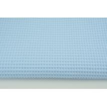 Cotton 100% waffle light blue CZ 160 cm