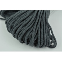 Cotton Cord 6mm steel gray (soft)
