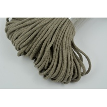 Cotton Cord 6mm dark beige (soft)