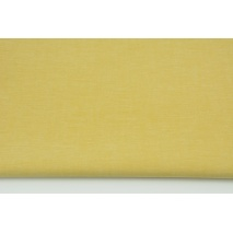 Cotton 100% double-sided plain mustard