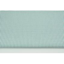 Bawełna 100% kratka vichy, dwustronna 3mm szałwia