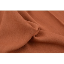 Viscose with elastane brick red