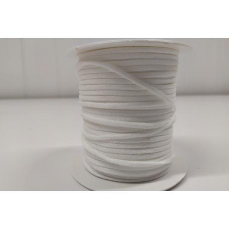 Round rubber 3mm white P 50m