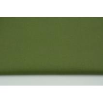 Bawełna 100% wojskowa zieleń, jednobarwna