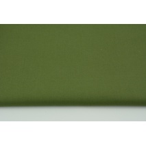 Cotton 100% plain army green