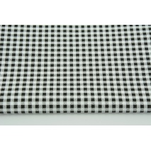 Cotton 100% black check 5mmx5mm