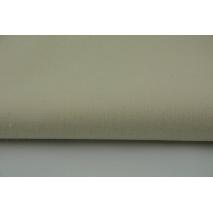 Bawełna 100% 120g/m2 naturalna kremowa jednobarwna