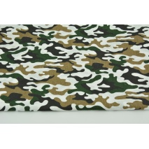 Cotton 100% camouflage XS on a white background