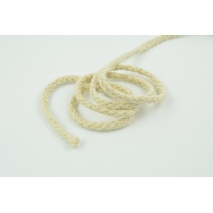 Plaited cord natural 5mm