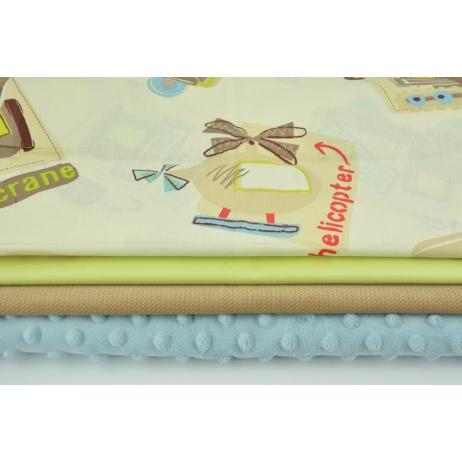 Fabric bundles No. 777 KO 40x160cm