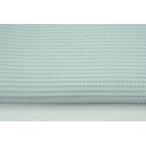 Cotton 100% waffle, gray-mint CZ 160 cm (lighter)