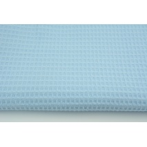 Cotton 100% waffle light blue Q