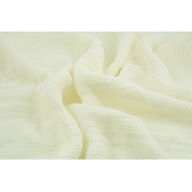Linen 100% plaiting knitwear, ecru