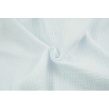 Triple gauze 100% cotton, plain white