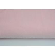 Knitwear velour, pastel pink