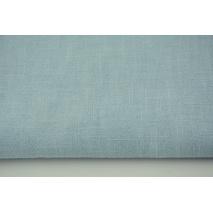 100% linen, blue (stonewashed)
