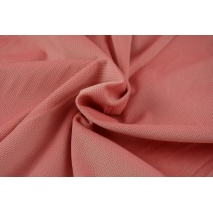 Velvet smooth coral pink 220 g/m2