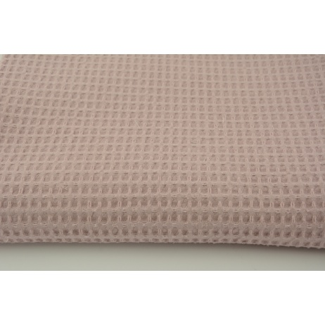 Cotton 100% waffle dirty heather Q