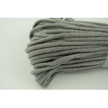 Cotton Cord 6mm grey (soft)