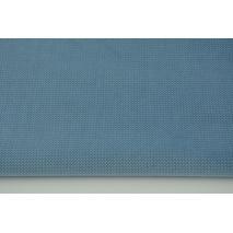 Velvet gładki jeansowy 220 g/m2